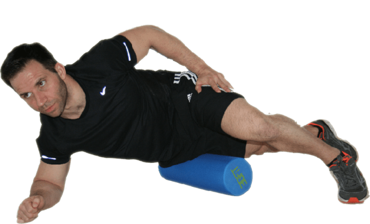 Foam Rolling Lateral quads