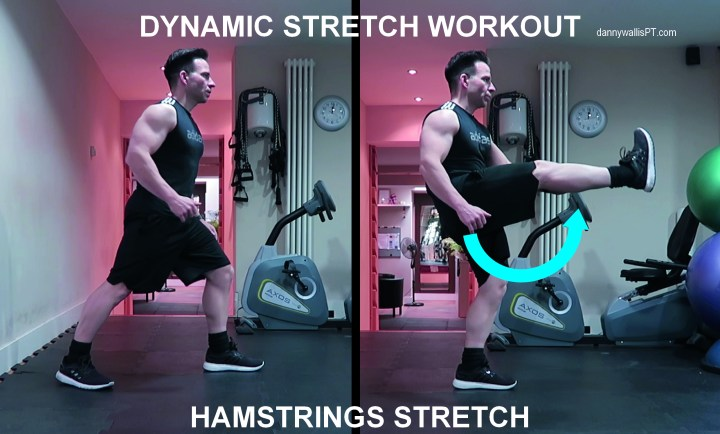 Dynamic Stretching: Hamstrings
