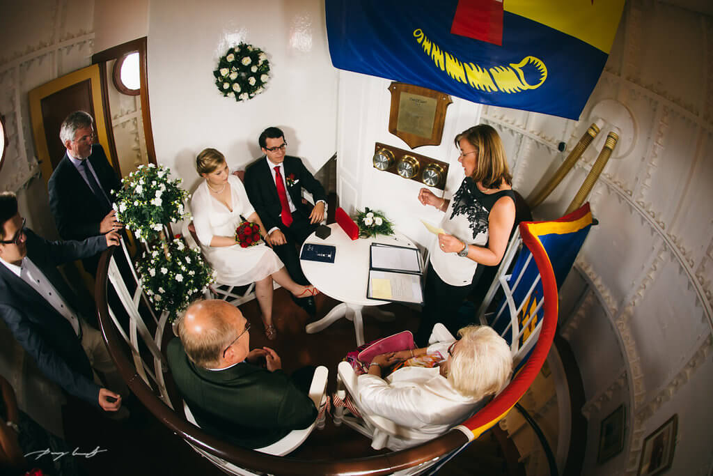 Heiraten auf Sylt  Hochzeit im Leuchtturm Hrnum