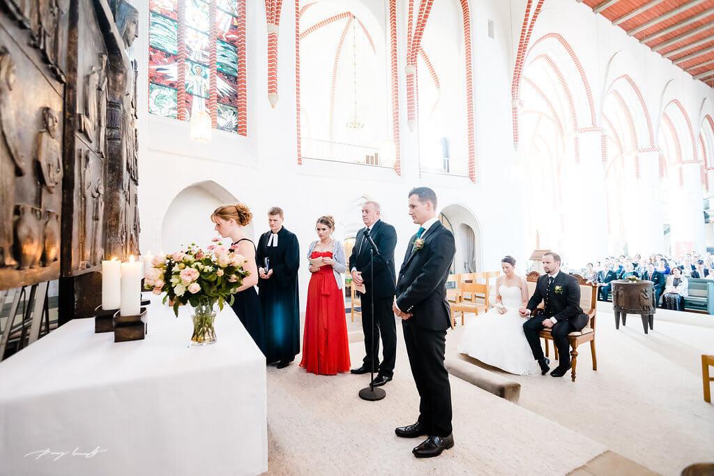 Hochzeit Kirche St Marien Winsen und Festhalle Brackel