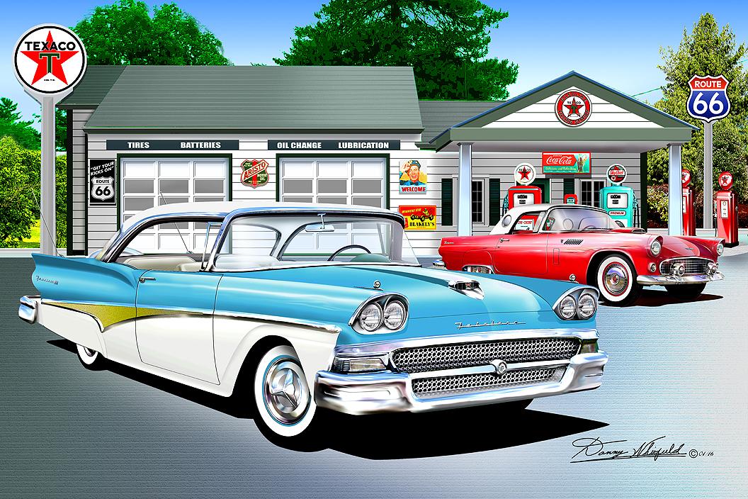 Old Car Art Prints