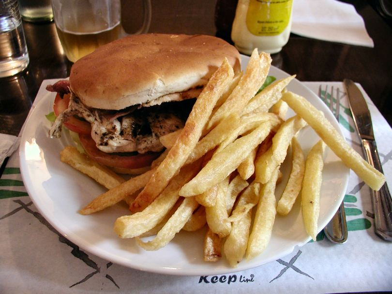 Alamo - club sandwich