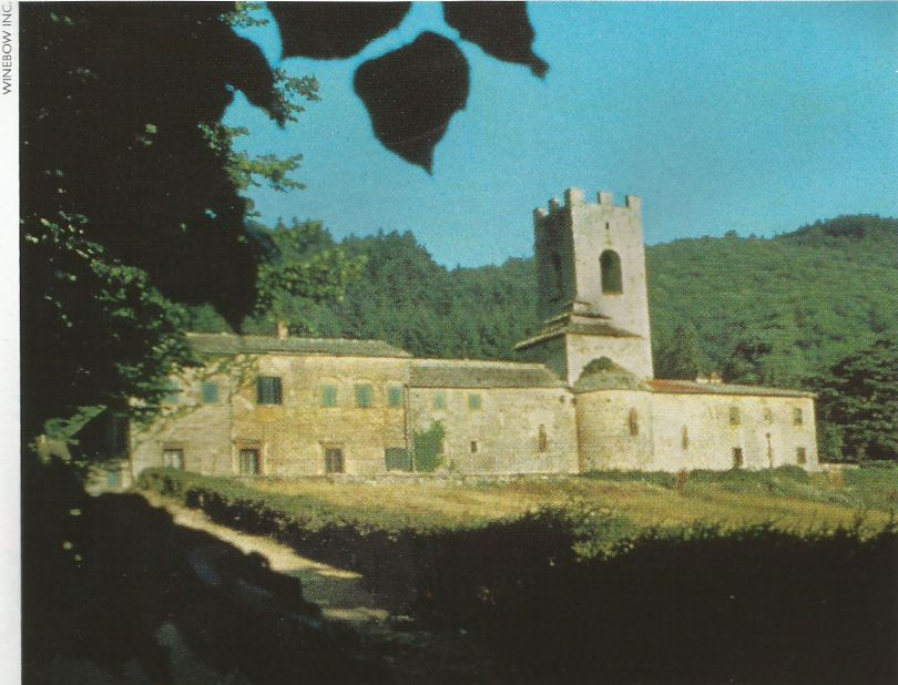 A landmark in the Chianti Classico zone, the abbey at Badia a Coltibuno (Abbey of the Good Harvest) is home to fine Chiantis made by integrating traditional with modern techniques.