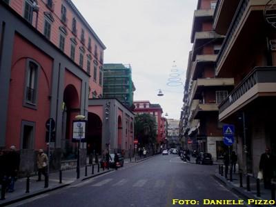 Via dei Mille via Filangieri e via Vittoria Colonna