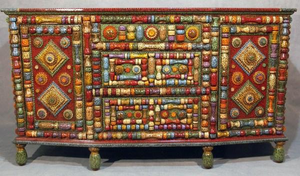 Buffet Inspired Tramp Art