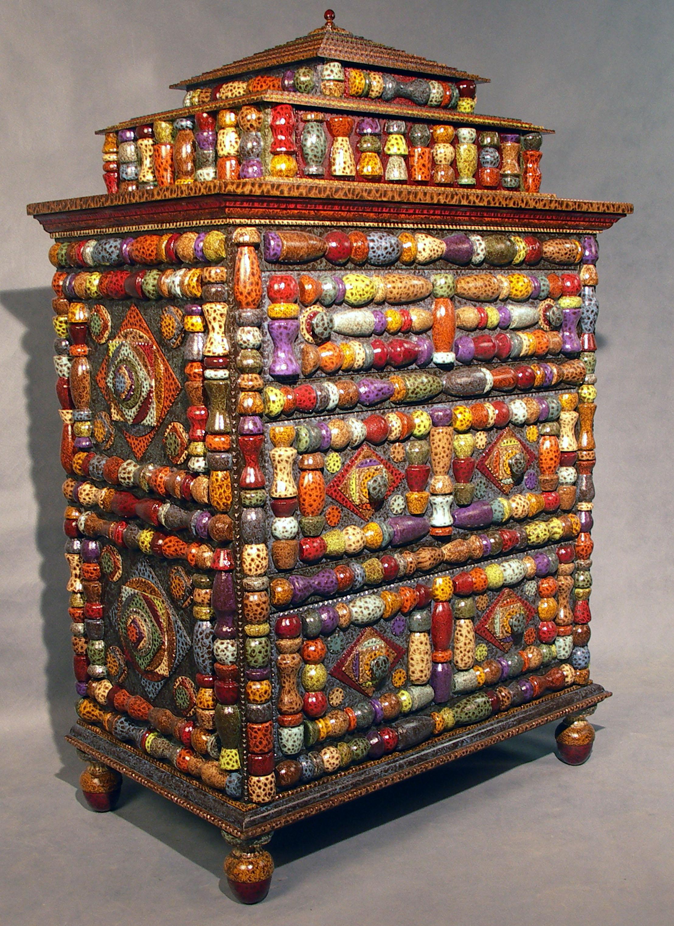 Furniture Photo Gallery Inspired by Tramp Art folk art