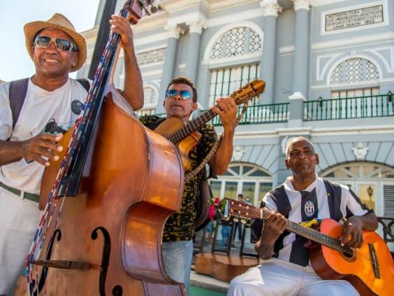 Musiciens à Cuba