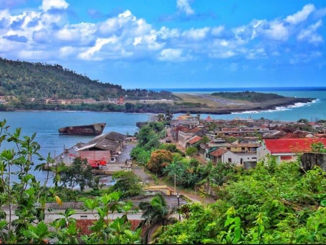 belle vue de Cuba