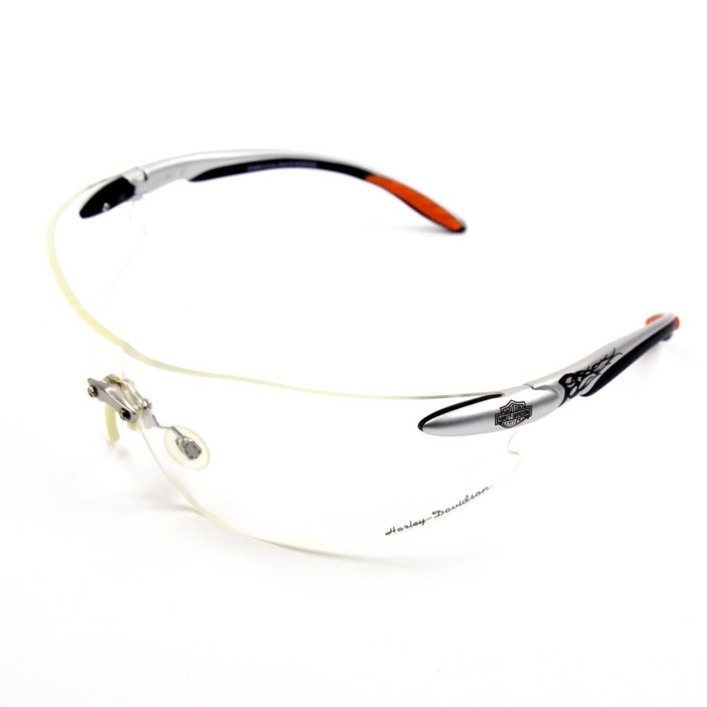 Harley-Davidson Motorcycle HD803 Clear Lens Safety Glasses