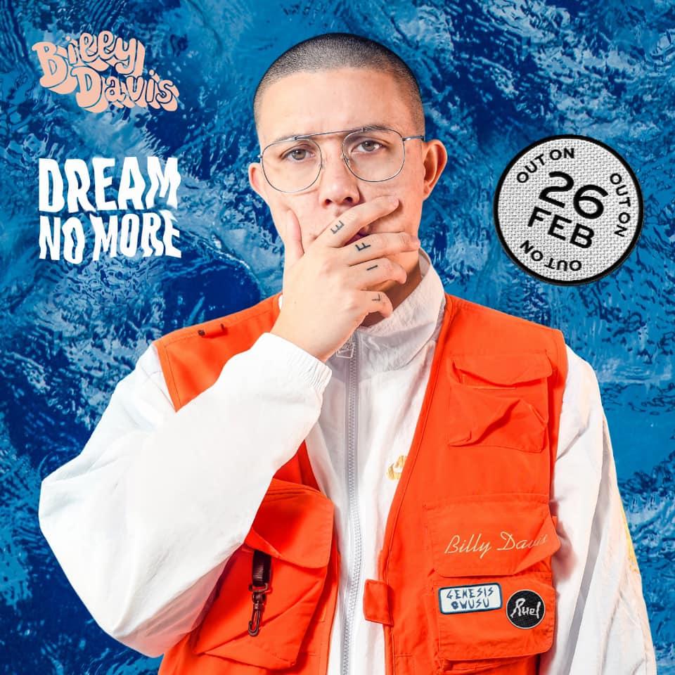 "Nieuwe single Billy Davis – ""Dream No More"""