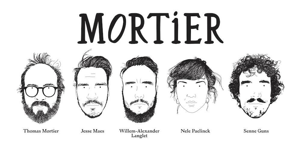 "Première: Debuutsingle Mortier – ""Marie"""