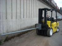 Carpet Pole or Coil Ram | Dan's Forklifts