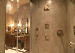 shower door install