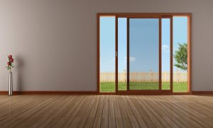 residential sliding glass window