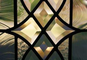 cabinet glass installation