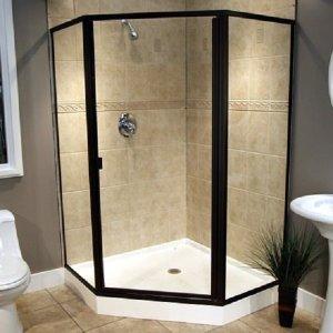 Glass Shower Door Remodel