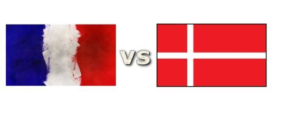 Danmark - Frankrig 25 januar