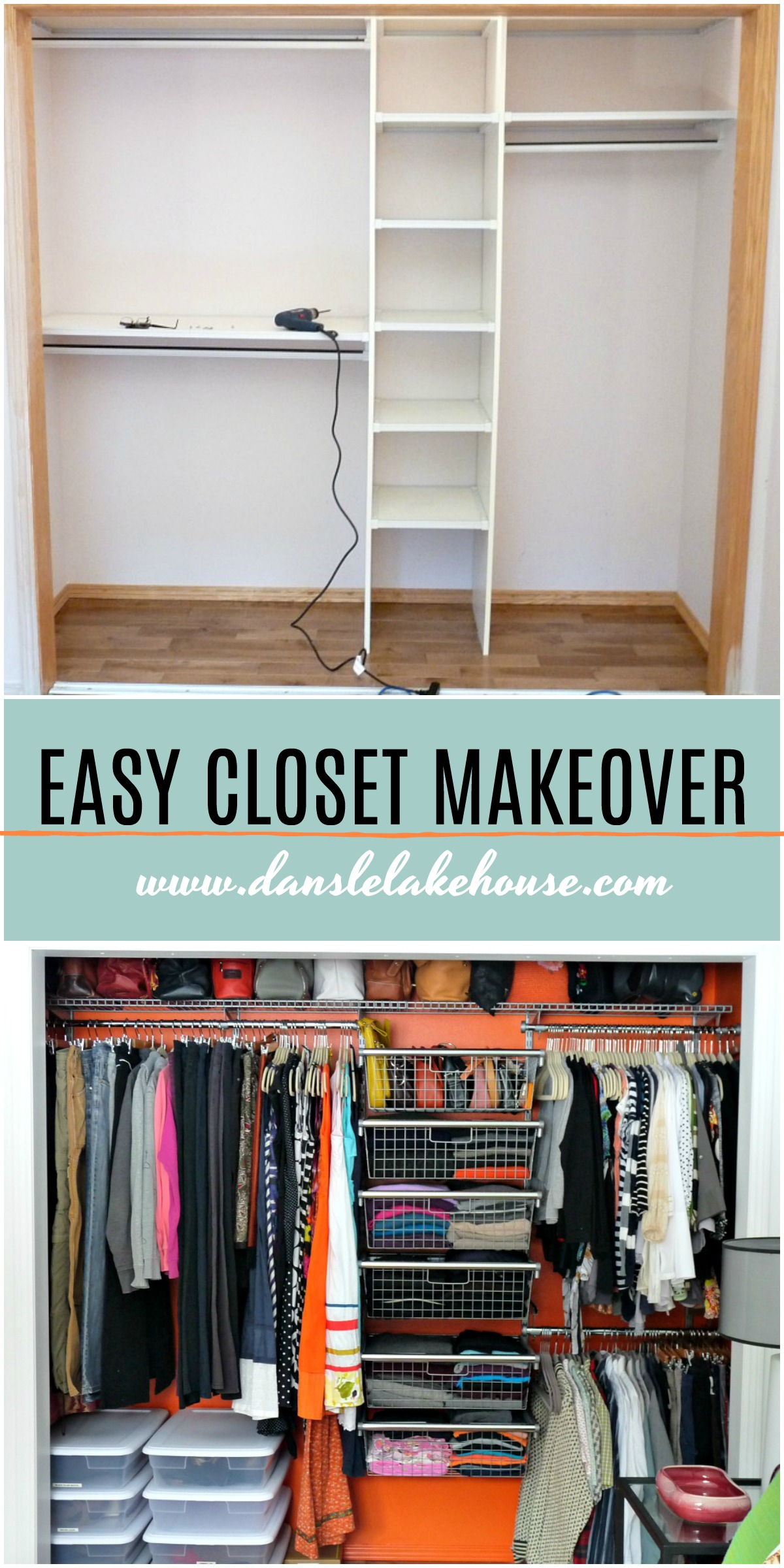 Rubbermaid Configurations Closet Organizer Review | Easy Closet Makeover