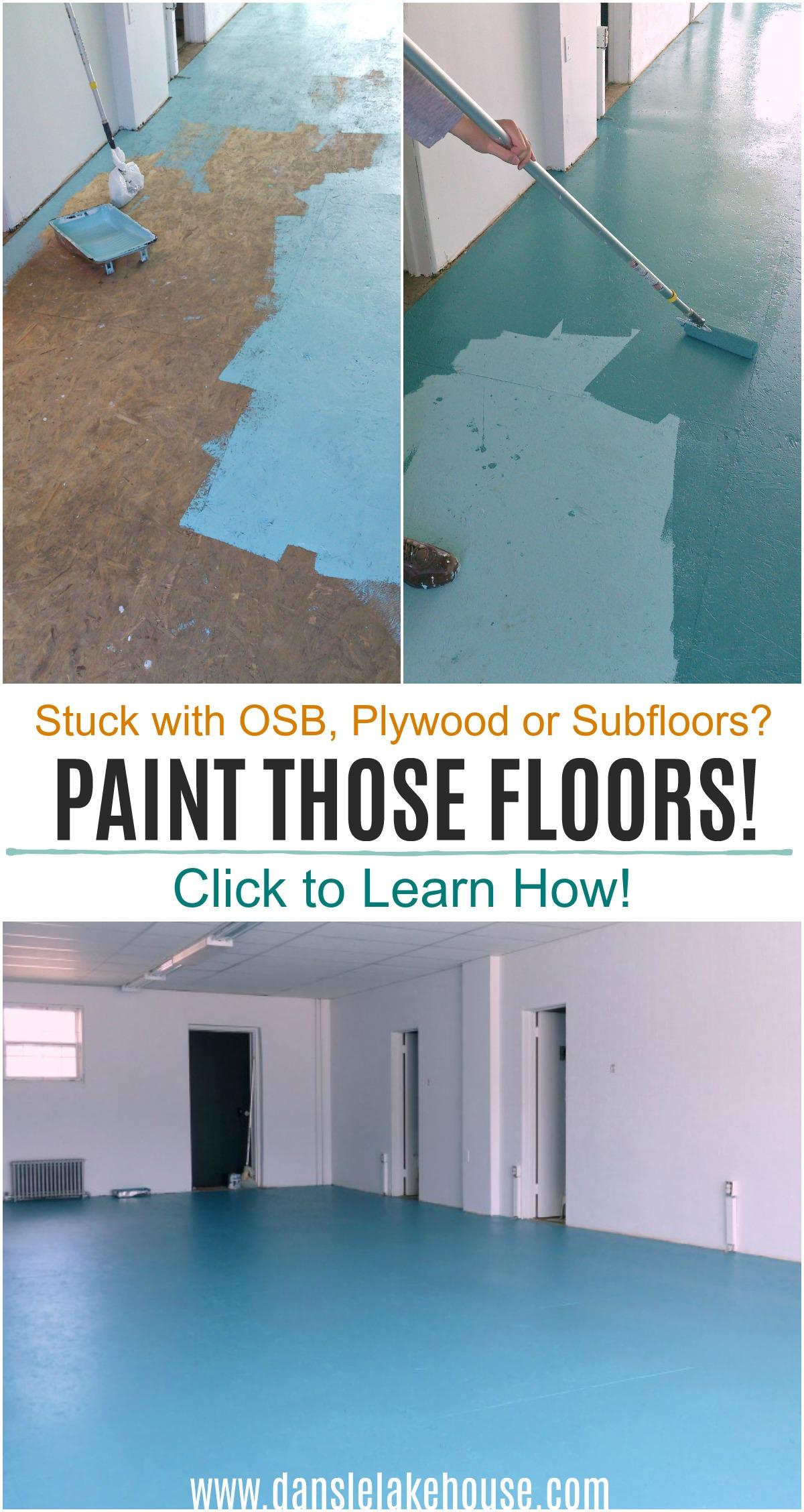 How to Paint OSB Floors