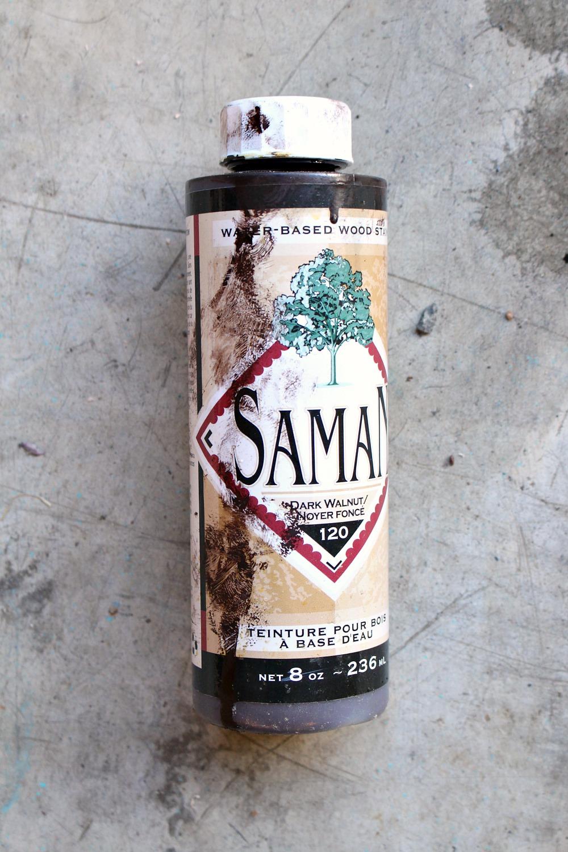 Saman Water-Based Stain Dark Walnut