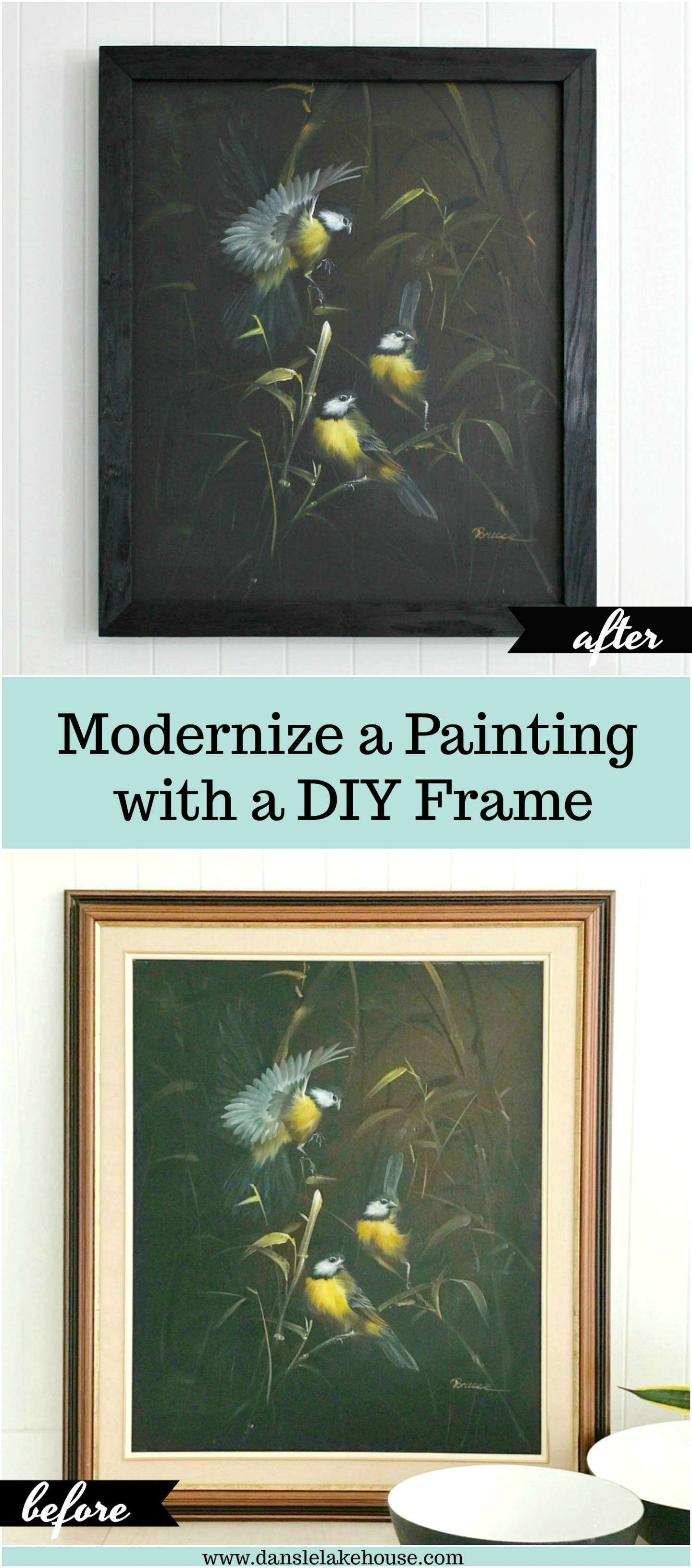 DIY wood burn frame tutorial