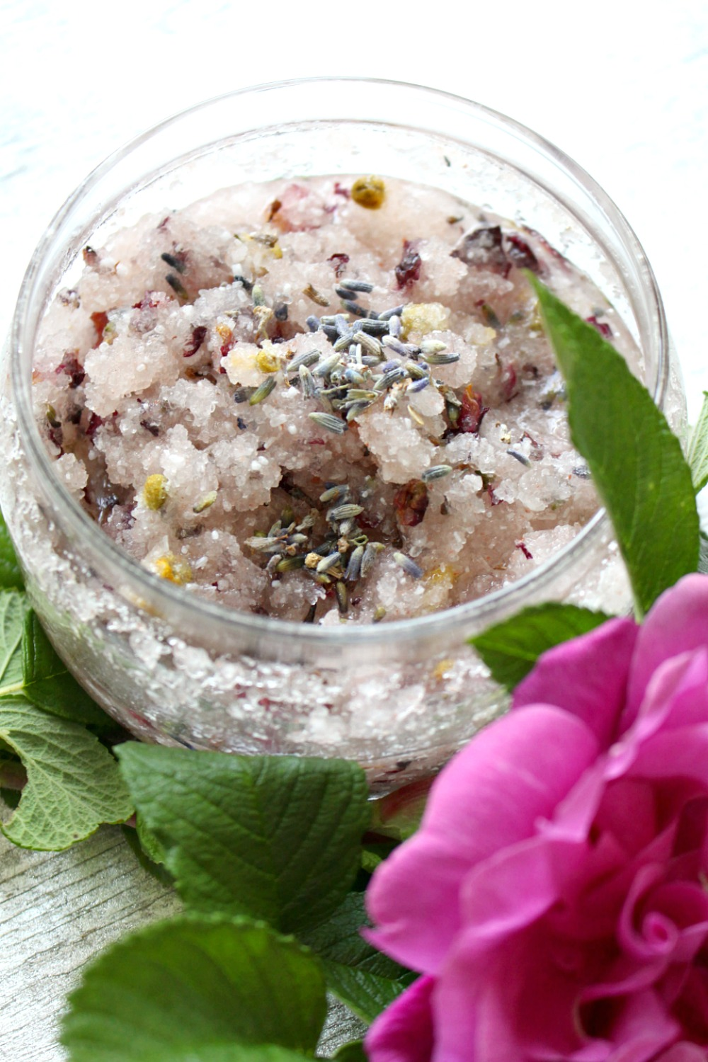 Rose Foot Scrub Recipe