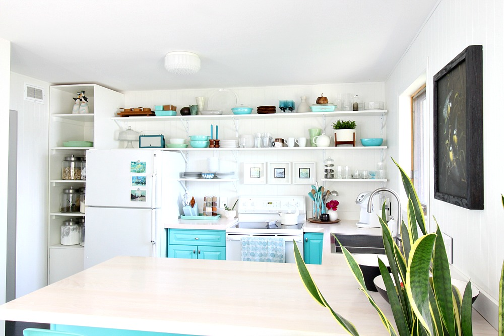 How to Style Kitchen Open Shelving
