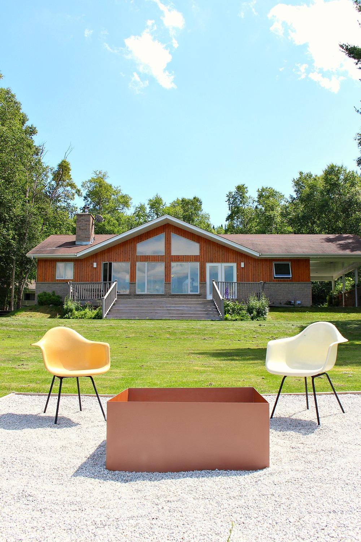 Cottage on Lake Superior