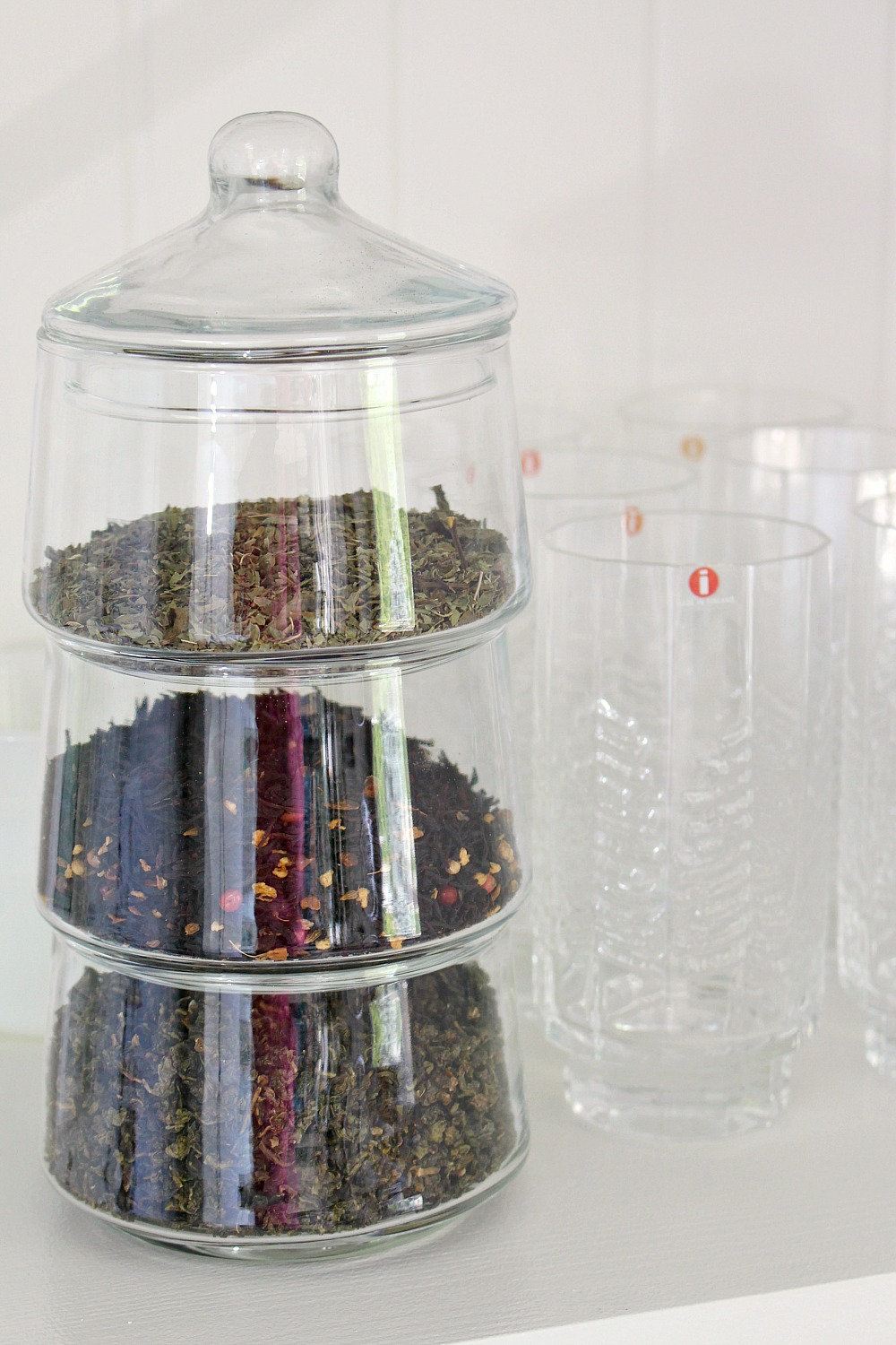 Clever Idea for Storing Loose Leaf Tea