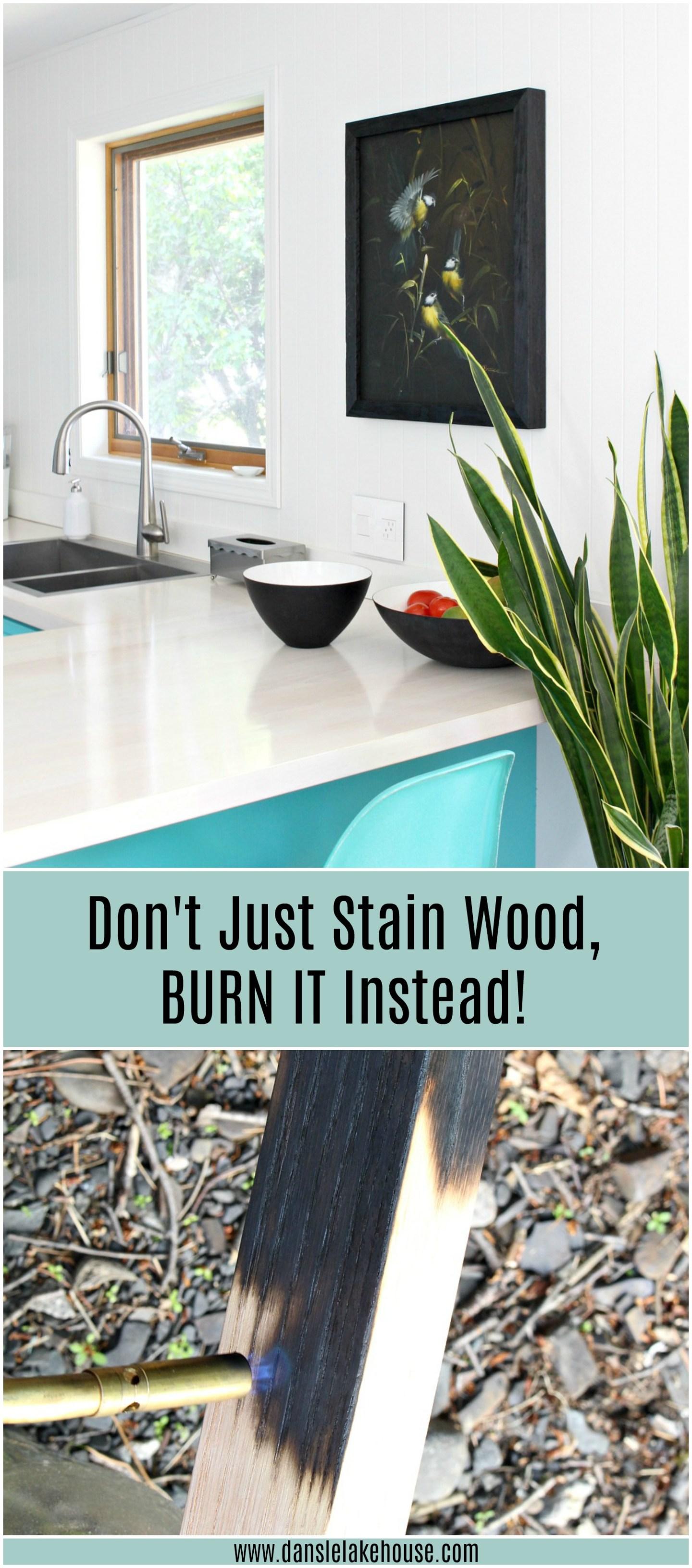 DIY wood burning tutorial