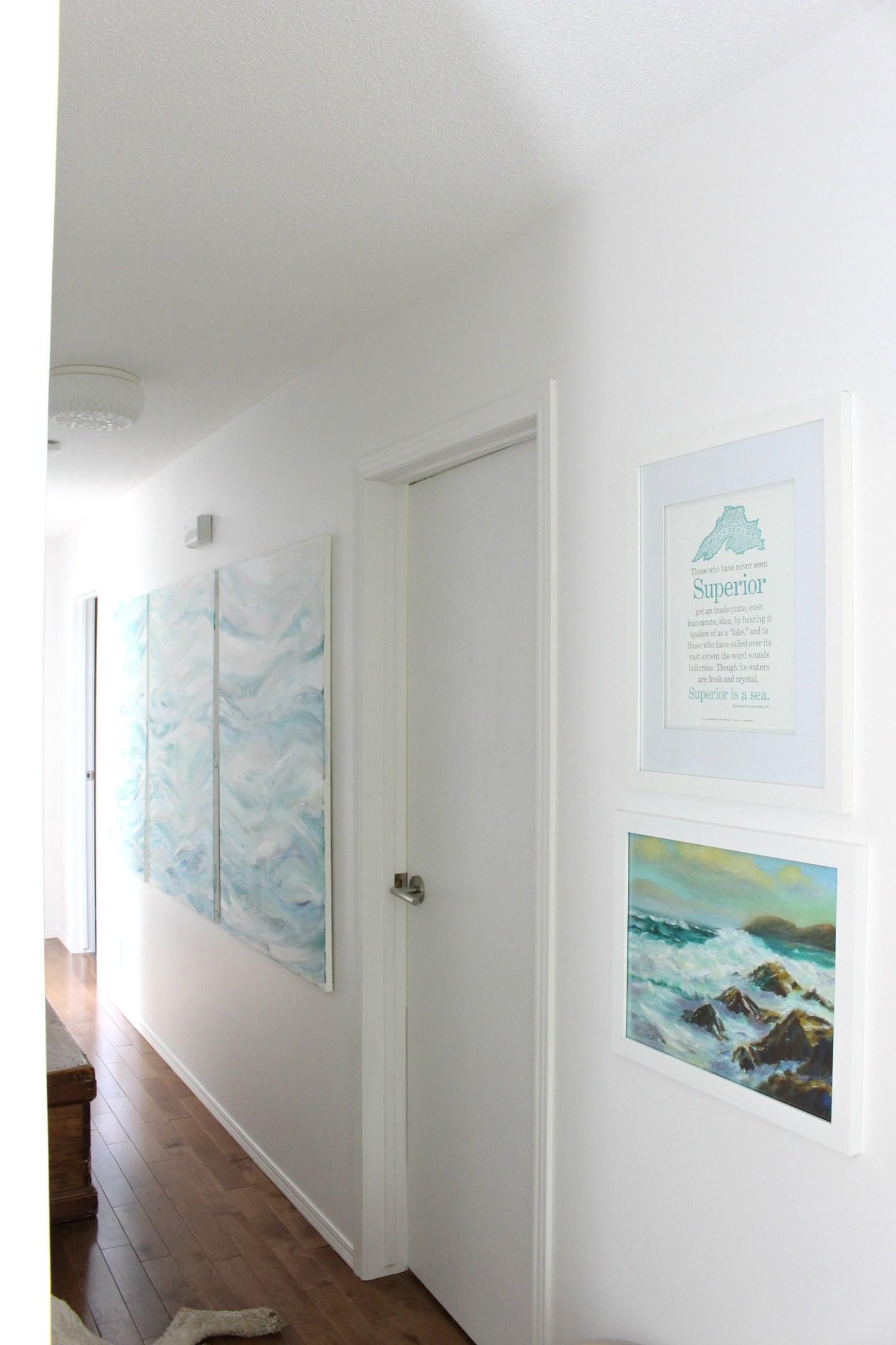 DIY Modern Coastal Art Project