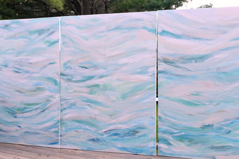 diy coastal art