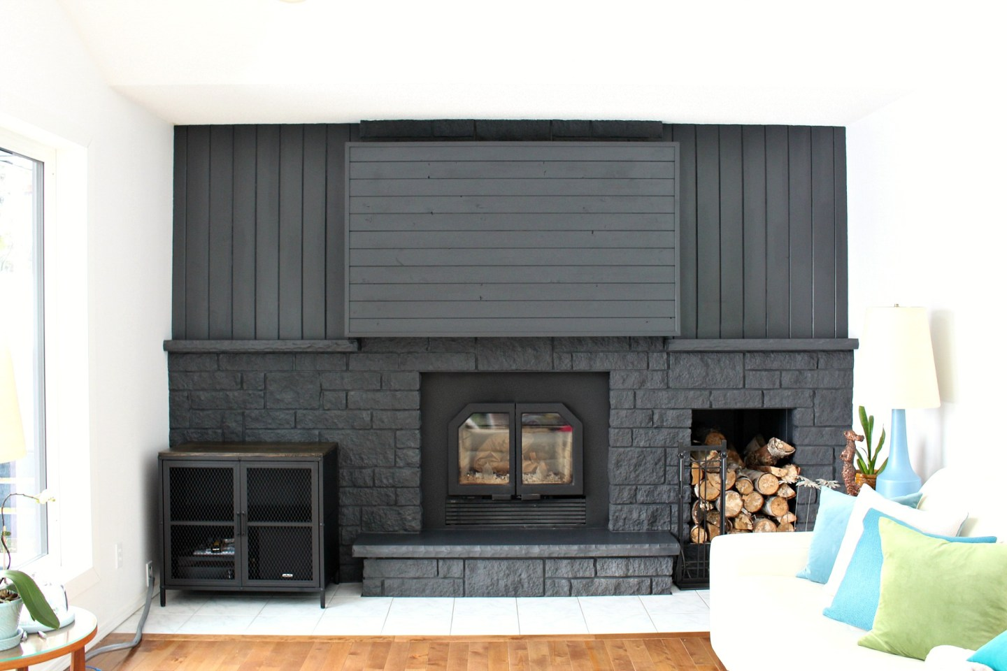 Fireplace Vents Get in the Way of TV