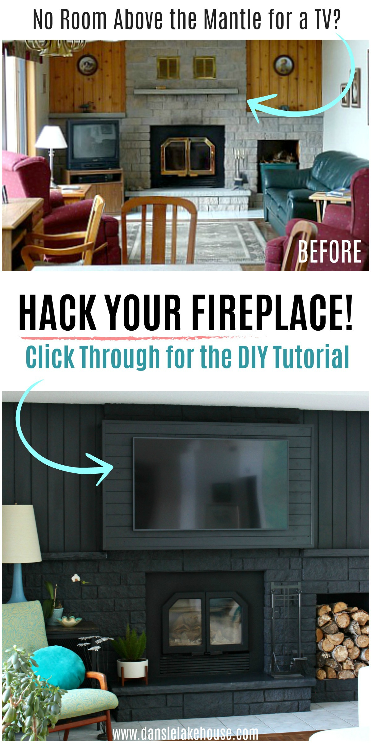 Fireplace Hack to Build a Bump Out