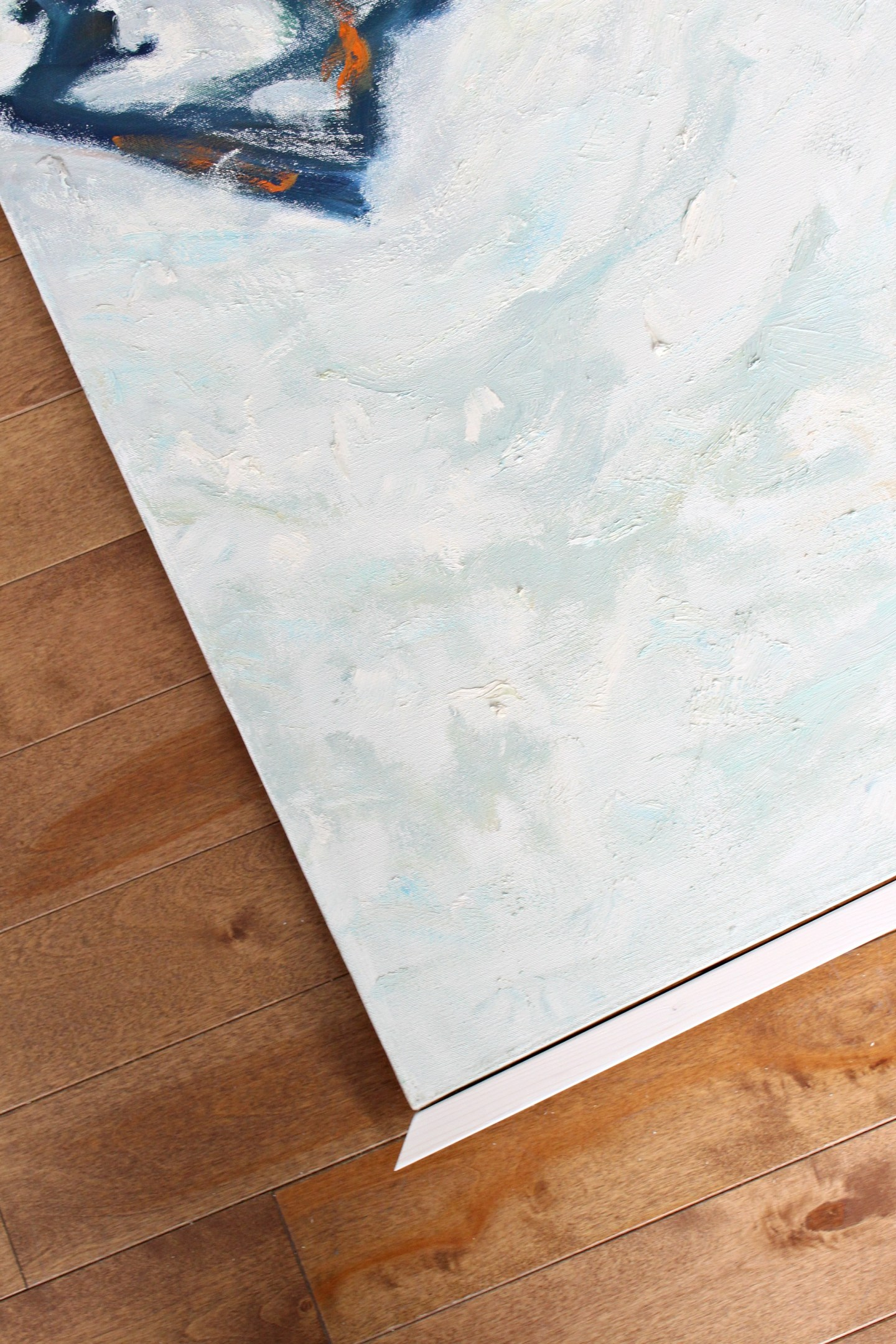 How to Frame Art for Cheap | Easy DIY Canvas Frame