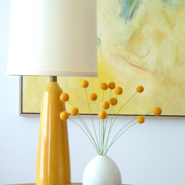 DIY FELTED WOOL BILLY BUTTONS