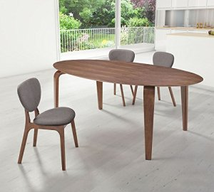 OVAL MCM STYLE DINING TABLE