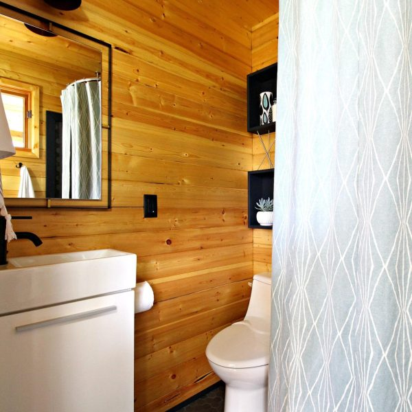 BUNKIE BATHROOM RENOVATION WITH SCANDINAVIAN STYLE
