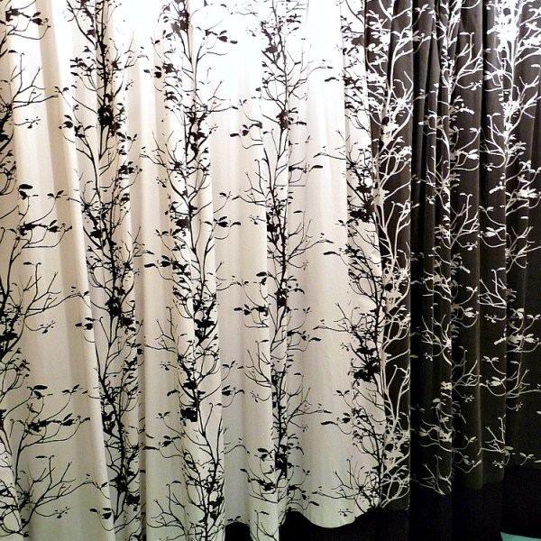CURTAINS FROM OLD BEDDING