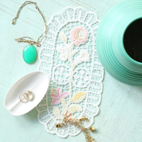 HOW TO BLEACH AND OVERDYE EMBROIDERIES