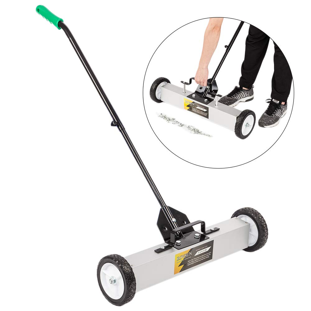 Magnetic Sweeper - a MUST Have For Any Exterior Renovating