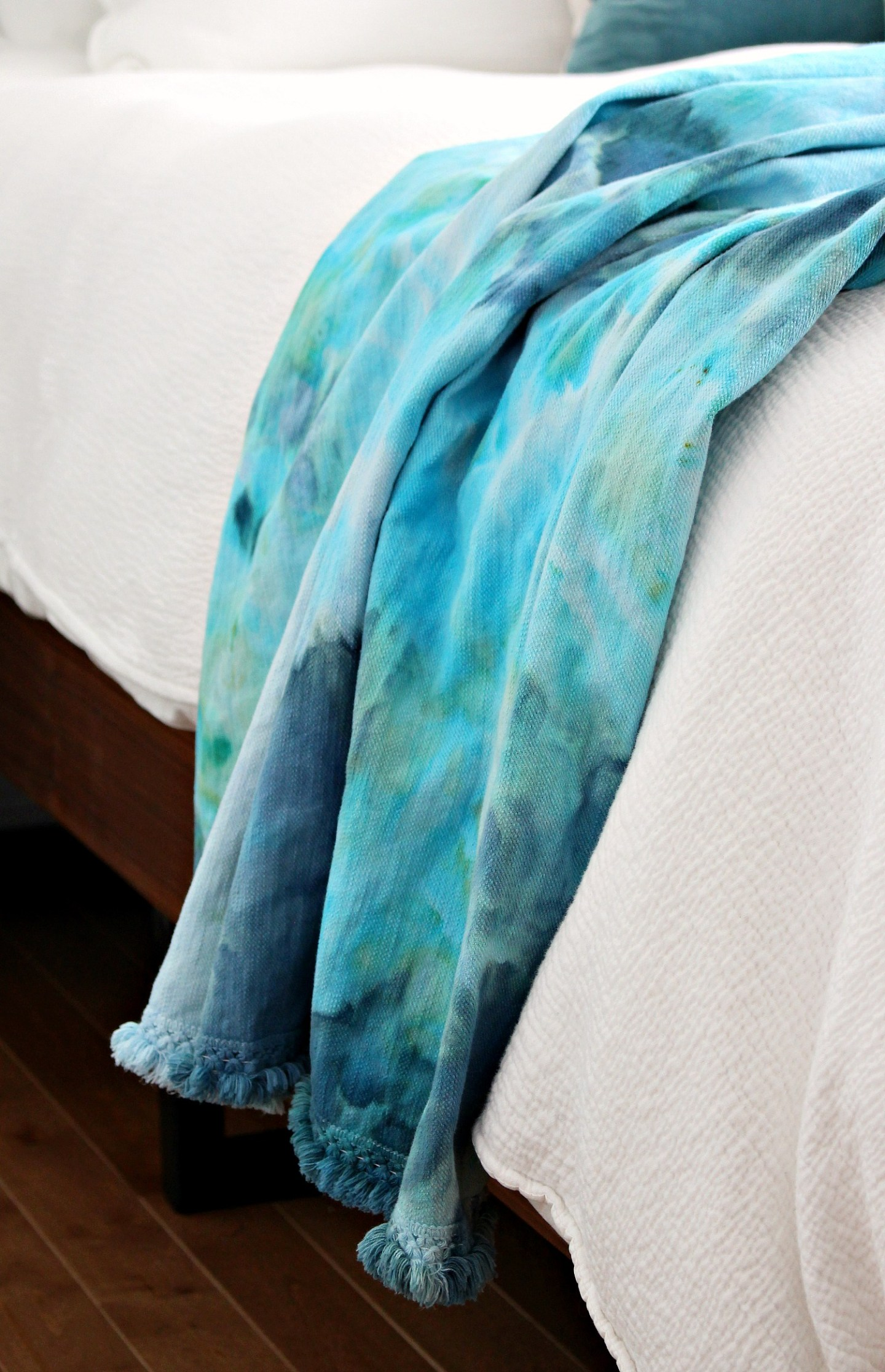 Procion Parakeet and Procion Teal Dyes Used for DIY Ice Dye Project | Learn How to Ice Dye - it's an Easy DIY Dyeing Project