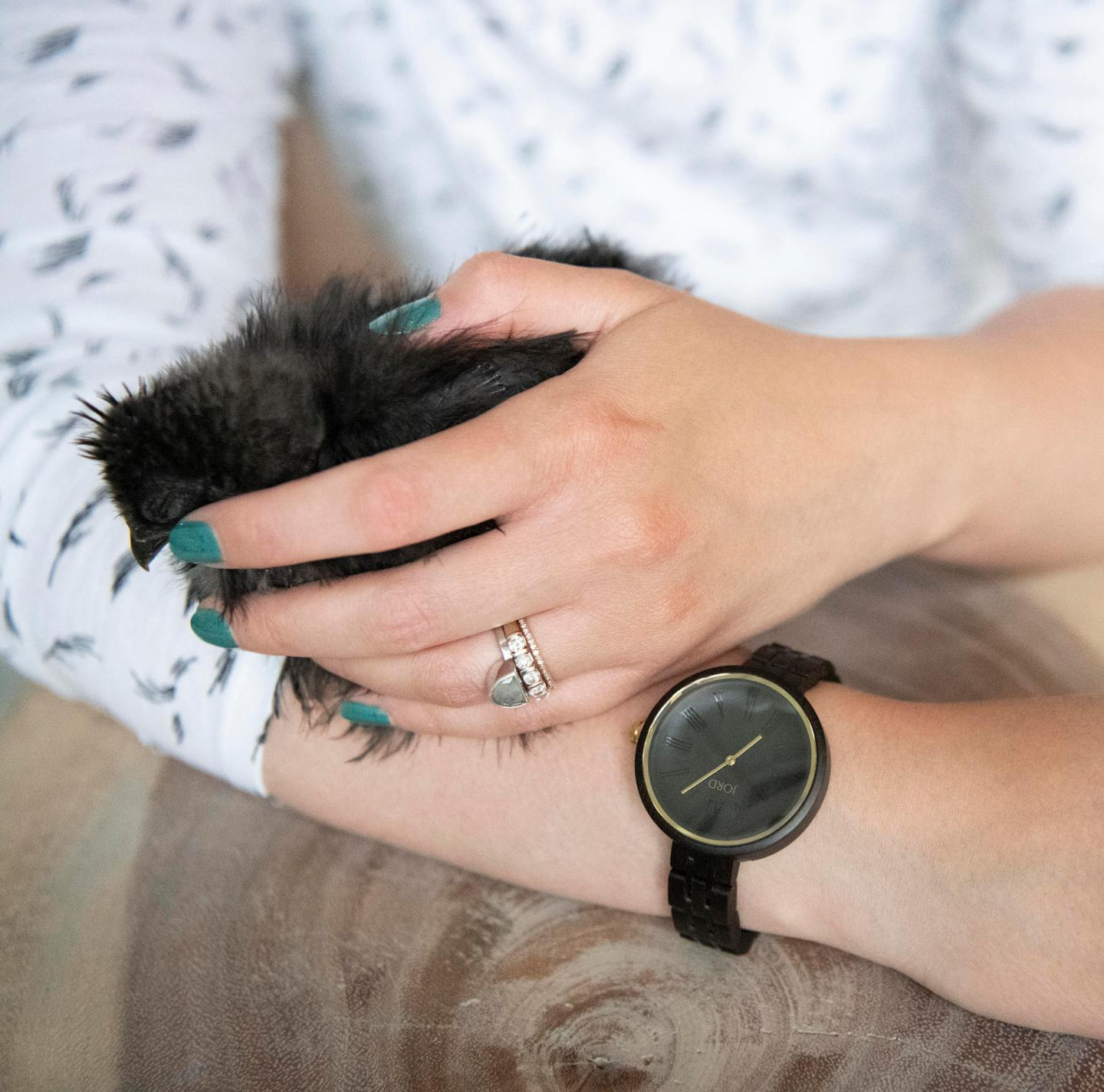 Wood Watch Giveaway with JORD | Cassia Ebony & Sable Review