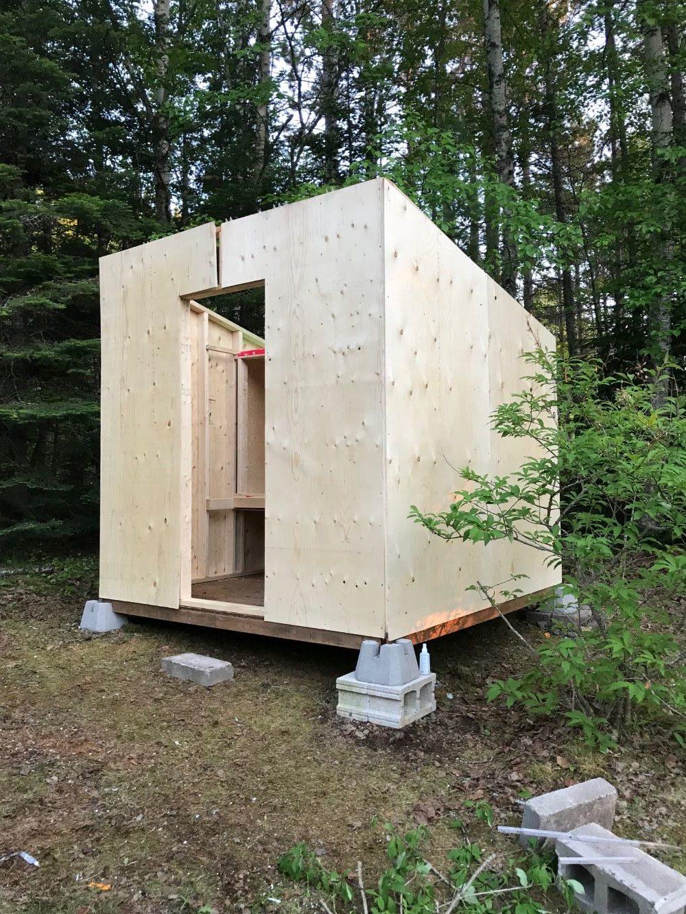 DIY Chicken Coop Hidden Inside Shed