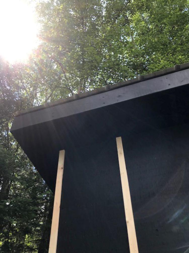 Metal Roof for Chicken Coop