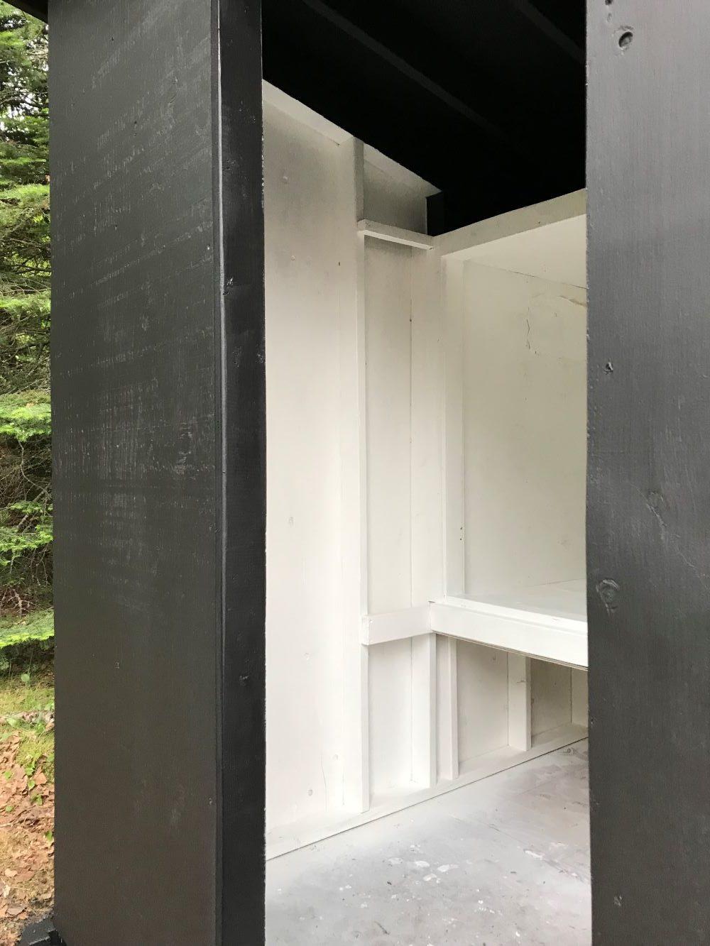 DIY Modern Chicken Coop Inside a Mini Barn