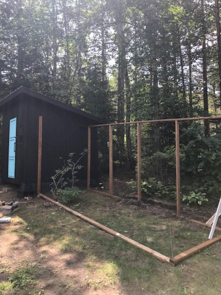 Building a DIY Chicken Run