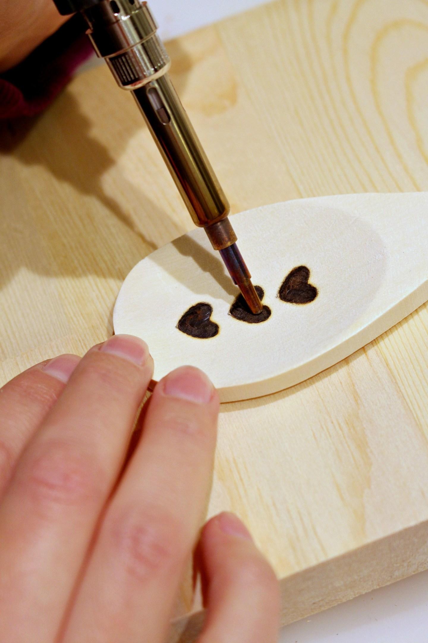 DIY Wood Burned Spoon Ideas