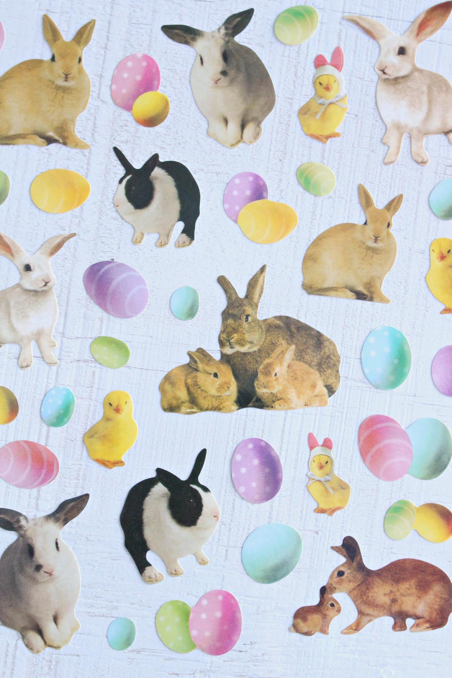 Bunny stickers