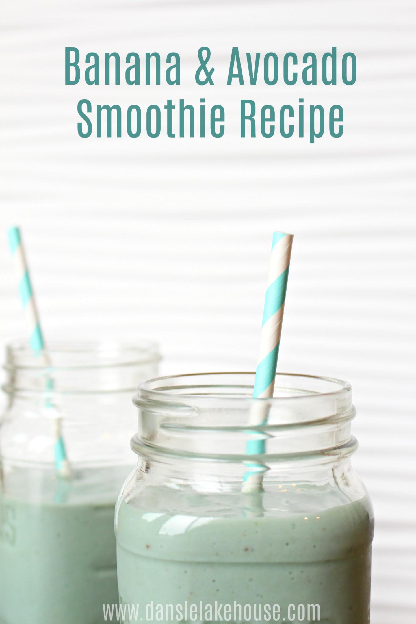 Banana & Avocado Smoothie Recipe